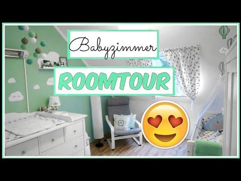 ROOMTOUR BABYZIMMER|ein Traum In Mint|DIY Ideen| SabsisMädchenkram♡
