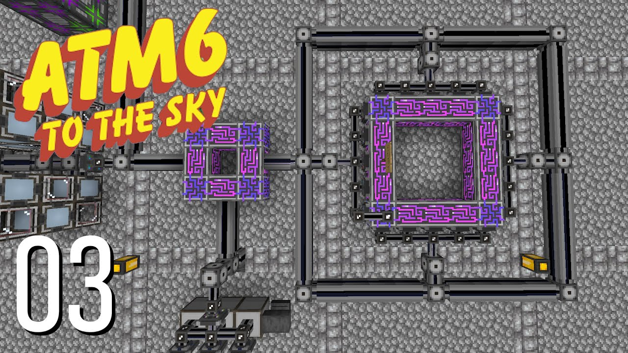 Download All The Mods 6 To The Sky Episode 3: Overkill AE2 System