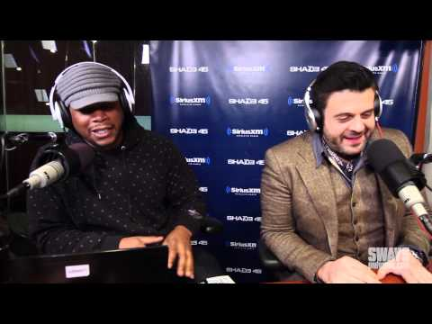 Adam Richman Raps Opening Verse of Lifes A Bitch on Sway In The Morning