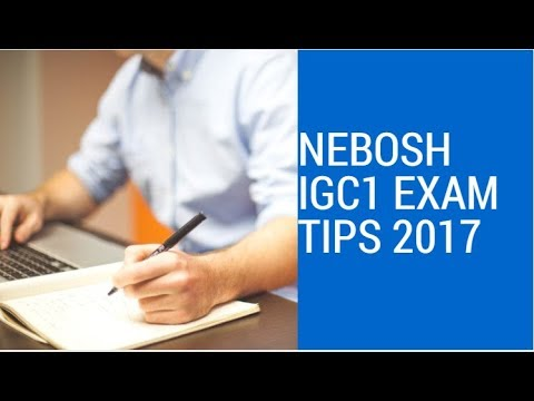 nebosh igc1 Nebosh and iosh courses manchester, united kingdom international nebosh courses in england including international general (igc), process safety management (psm), oil and gas (iogc) and international fire safety (ifc) certificates.