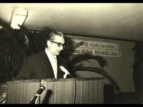 Tuđmanov govor iz 1971     Naša je majka samo naša hrvatska domovina!