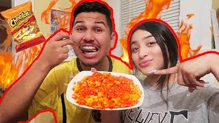 Flamin Hot Cheetos Mac N Cheese DIY!