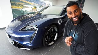 I Bought a Porsche Taycan Turbo S to Crush Mat Watson on Carwow!