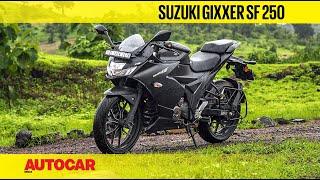 Suzuki Gixxer SF 250 | On-Road Review & Test Ride | Autocar India