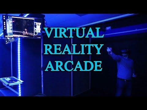 CTRL V - VR Arcade - Virtual Reality Futuristic Gaming