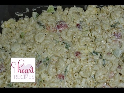 How to make a Classic Macaroni Salad - I Heart Recipes