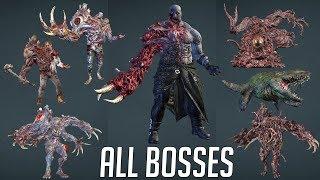 Resident Evil 2 Remake: All Boss Fights / All Bosses & Endings (No Damage, Hardcore, 4K 60fps)