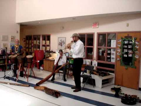 Didgeridoo & Drums Presentation at Annsworth Academy 2012 - Video Four