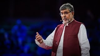 Kailash Satyarthi: How to make peace? Get angry(How did a young man born into a high caste in India come to free 83000 children from slavery? Nobel Peace Prize Laureate Kailash Satyarthi offers a surprising ..., 2015-04-13T15:24:58.000Z)