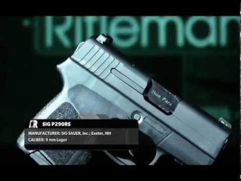 american-rifleman-television---sig-sauer-p290rs-pistol-review