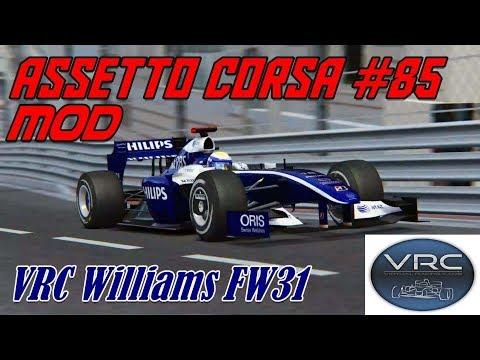 Assetto Corsa #85# Mod # VRC Wiiliams FW31
