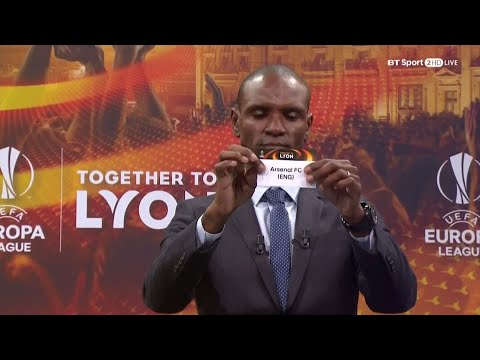 UEFA Europa League L16 Draw