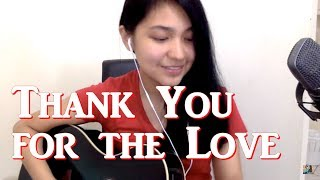 Thank You For The LOVE (cover) /christmassong