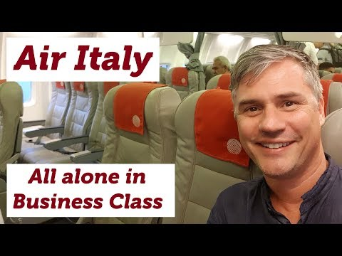 Air Italy: Alone In Business Class On A Very Old 737