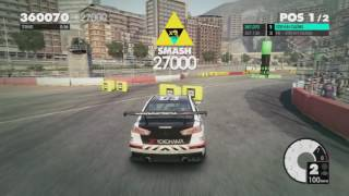 Dirt 3 - 790k PTS Gymkhana Run (Top 15 of 95000 players) - Monaco, Boulevard Albert