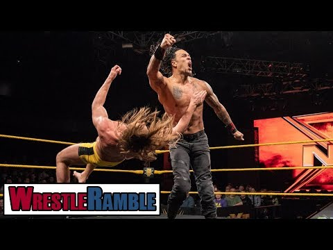 Punishment Martinez DEBUTS! WWE NXT Dec. 05, 2018 Review | WrestleTalk's WrestleRamble