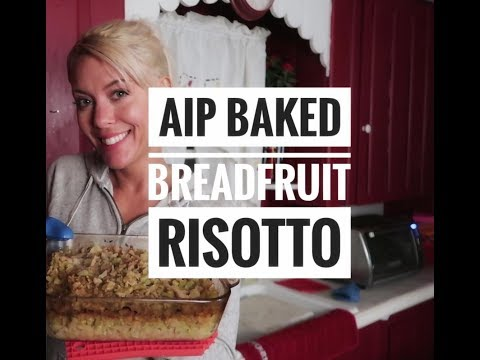 AIP Breadfruit Risotto