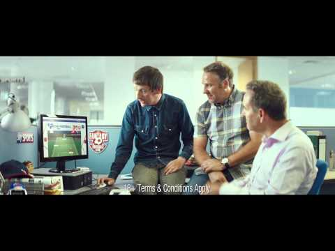 Sky Sports Fantasy Football Advert - The Ultimate Cure for Workday Boredom