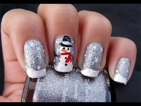 Easy Snowman Nail Art Designs Ideas Trends Youtube
