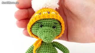 Амигуруми: схема Крокодильчика. Игрушки вязаные крючком - Free crochet patterns.