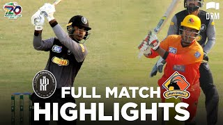 KP vs Sindh | Full Match Highlights | Match 11 | National T20 Cup 2020 | NT2N