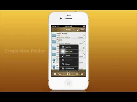 AirDisk Pro for iPhone, iPad and iPod touch
