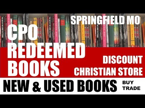 CPO REDEEMED BOOKS AND MORE Springfield MO – NEW and USED Christian Bookstore Reviews