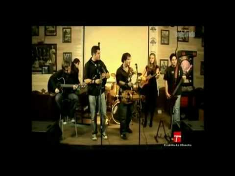 Música celta Celtic music ZAMBURIEL en TV Castilla La Mancha: Clavicordio
