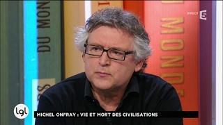 Michel Onfray présente son dernier essai : «Décadence»