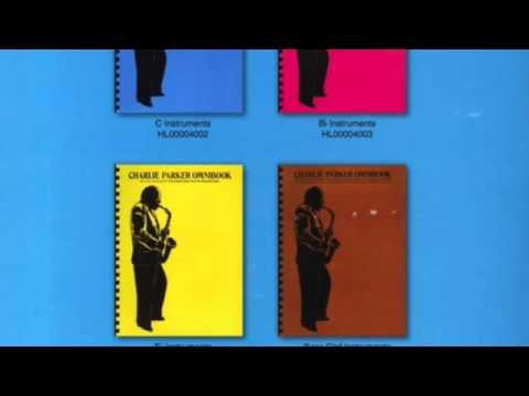 Charlie Parker Omnibook (in order)