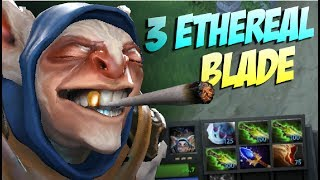 GREEN IS GOOD - Meepo 3x Ethereal Blade by Abed 7.06 - Top Pro Player Dota 2