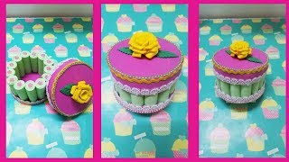 DIY REGALO  para  MAMA con Reciclaje/manualidades para el día de las MADRES/Mothers day gift idea