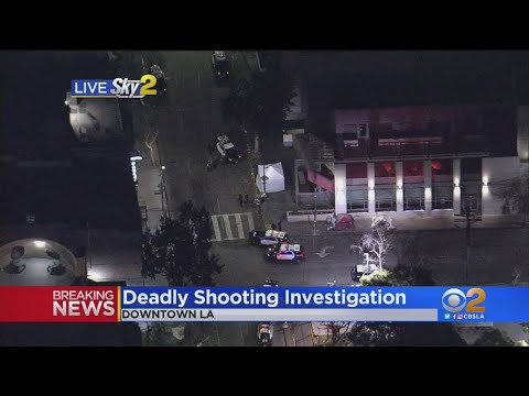 Police Investigating Fatal Downtown Shooting In Skid Row