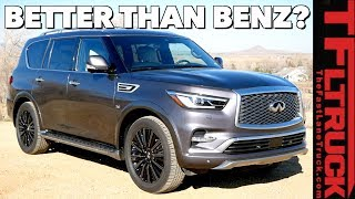 Is the 2019 Infiniti QX80 is the Most Unique SUV You Can Buy Today?