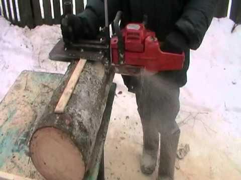 Как сделать пилораму из бензопилы
