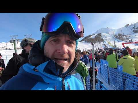 Sestriere Snow Report on World Cup Day 18 01 2020