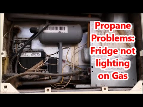 RV Refrigerator Repair - Dometic - clean it out