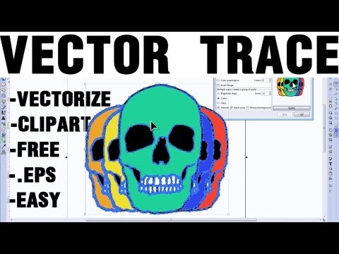 Vector Trace Multiple Color Logos Easily - EPS