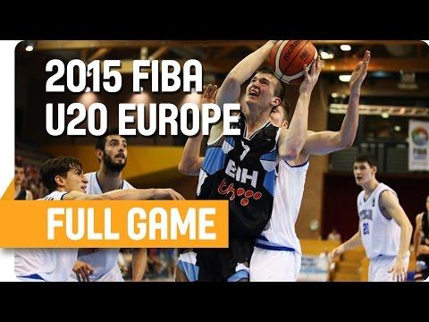 Italy v Bosnia and Herzegovina - Group A - Full Game - U20 European Championship Men