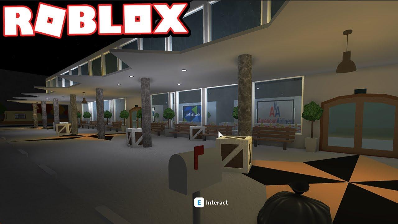The Bloxburg International Airport Roblox Bloxburg