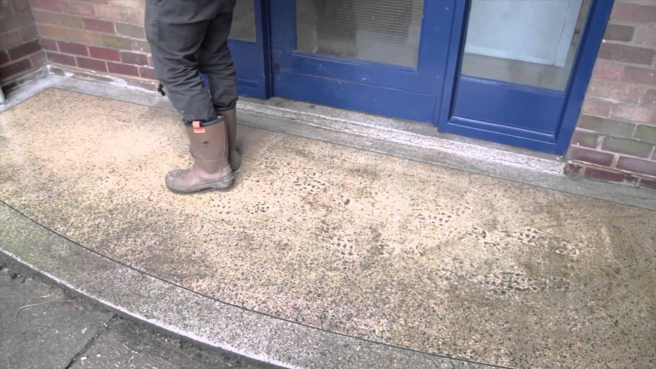 Oltco Anti Slip Terrazzo Floor Treatment Sovereign Housing