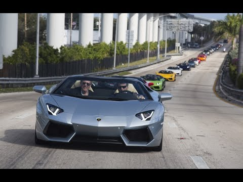 Exotic Cars In Miami Toys For Tots 2013 Toy Rally The Amazing