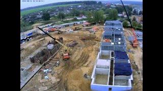 Четырехэтажный жилой дом из металлических конструкций! (многоэтажный) | СтройЭталон(Технология строительства жилых домов на металлическом каркасе до сих пор использовалась в России только..., 2016-04-02T08:40:44.000Z)