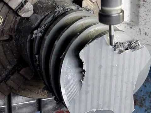 Multi-Axis Helical Machining