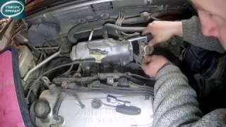 Лёха & - ремонт дроссельной заслонки .часть -1