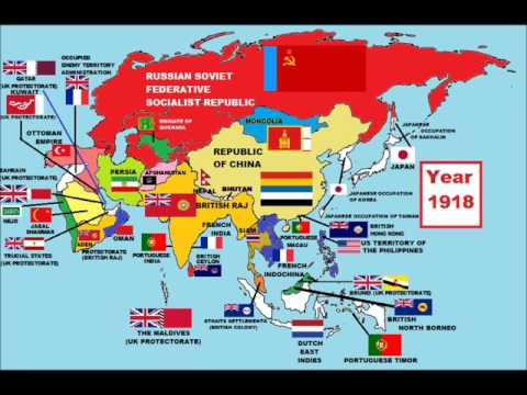 History of Asia since 1750 in 5 minutes