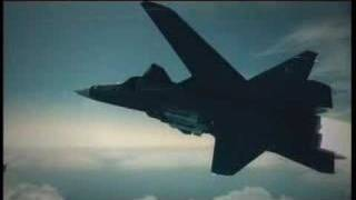 Ace Combat 6 Mission 09 Su-47 Razgriz Russian Rock Anthem