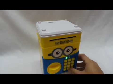 Minions Saving Box - www.eaac.lelong.my