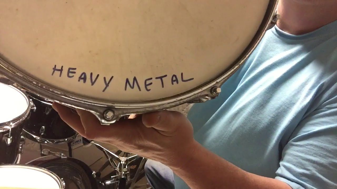 Sometimes you need to switch snare drums
