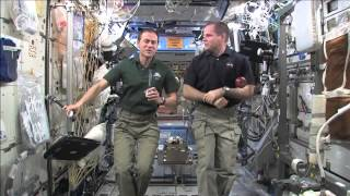 """NASA Astros on ISS Talk with """"Down"""" Home Media"""